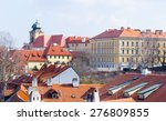 detail of rooftops of hradcany... | Shutterstock . vector #276809855