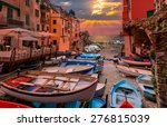 beautiful colorful cityscape on ... | Shutterstock . vector #276815039