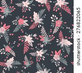 floral seamless pattern with... | Shutterstock .eps vector #276822065