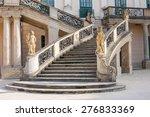 Old Stone Stairway Of Esterhaz...