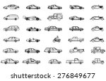 cars vector set | Shutterstock .eps vector #276849677