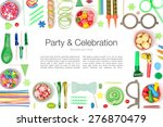 party and celebration elements... | Shutterstock . vector #276870479