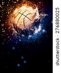 Basketball Sport Poster Or...