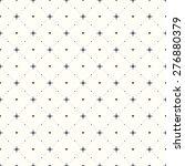 seamless geometric pattern.... | Shutterstock . vector #276880379