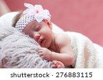 the baby sleeps peacefully | Shutterstock . vector #276883115