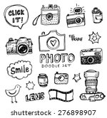 hand drawn vector illustration... | Shutterstock .eps vector #276898907