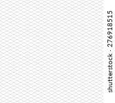 seamless isometric grid pattern | Shutterstock .eps vector #276918515