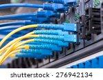 data transfer by optical fibre...   Shutterstock . vector #276942134