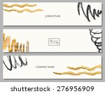 drawn by hand from a set of... | Shutterstock .eps vector #276956909