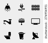 Home Utilities Icons Set....