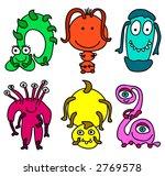 illustration of 6 different... | Shutterstock . vector #2769578