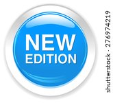 new edition button | Shutterstock .eps vector #276974219