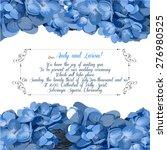 wedding invitation with...   Shutterstock .eps vector #276980525