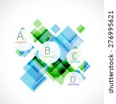 business modern colorful... | Shutterstock .eps vector #276995621