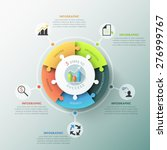 modern infographic options... | Shutterstock .eps vector #276999767