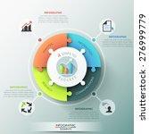 modern infographic options... | Shutterstock .eps vector #276999779