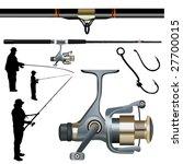 Fishing Rod  Reel  Hook 1