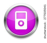 mp3 player icon | Shutterstock .eps vector #277035041
