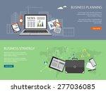 flat design modern vector... | Shutterstock .eps vector #277036085