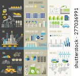 energy and ecology infographics ... | Shutterstock .eps vector #277036991
