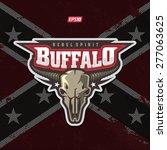 modern professional buffalo... | Shutterstock .eps vector #277063625