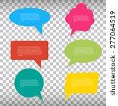 abstract creative concept... | Shutterstock .eps vector #277064519