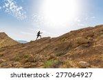 Man Sport Running Ascending...