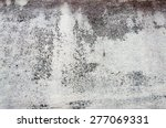 a wall of concrete texture | Shutterstock . vector #277069331