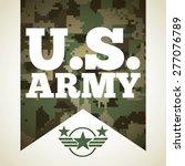 military emblem design  vector...
