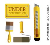 under construction design over... | Shutterstock .eps vector #277095014