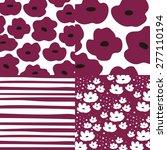 abstract vector background... | Shutterstock .eps vector #277110194