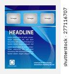 trifold flyer  business...   Shutterstock .eps vector #277116707