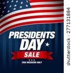 presidents day sale   Shutterstock .eps vector #277131884