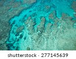 aerial view of tropical coral... | Shutterstock . vector #277145639
