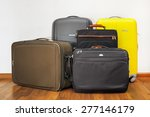 luggage bags | Shutterstock . vector #277146179