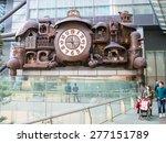 tokyo  japan   march 20  clock...   Shutterstock . vector #277151789
