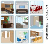 various office | Shutterstock .eps vector #277162775