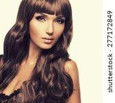 portrait  of beautiful sexy... | Shutterstock . vector #277172849