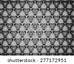 textile cloth black and white  | Shutterstock . vector #277172951