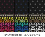 indian textile pattern  ... | Shutterstock .eps vector #277184741