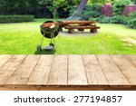 green garden of grill and free... | Shutterstock . vector #277194857