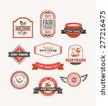 digitally generated fair trade... | Shutterstock .eps vector #277216475