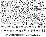 bird mammal human fish insects... | Shutterstock . vector #27722218