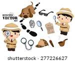detective vector set   Shutterstock .eps vector #277226627
