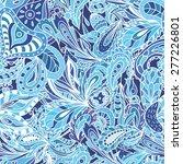 blue fresh indian vector... | Shutterstock .eps vector #277226801
