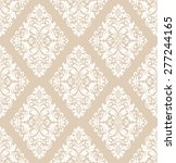 vector damask seamless pattern... | Shutterstock .eps vector #277244165