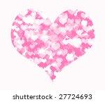 small heart in the big heart | Shutterstock . vector #27724693