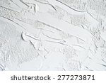 white and grey oil abstract... | Shutterstock . vector #277273871