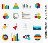 business data market elements... | Shutterstock .eps vector #277276421