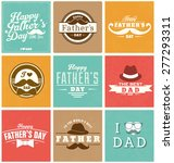 happy father's day design... | Shutterstock .eps vector #277293311